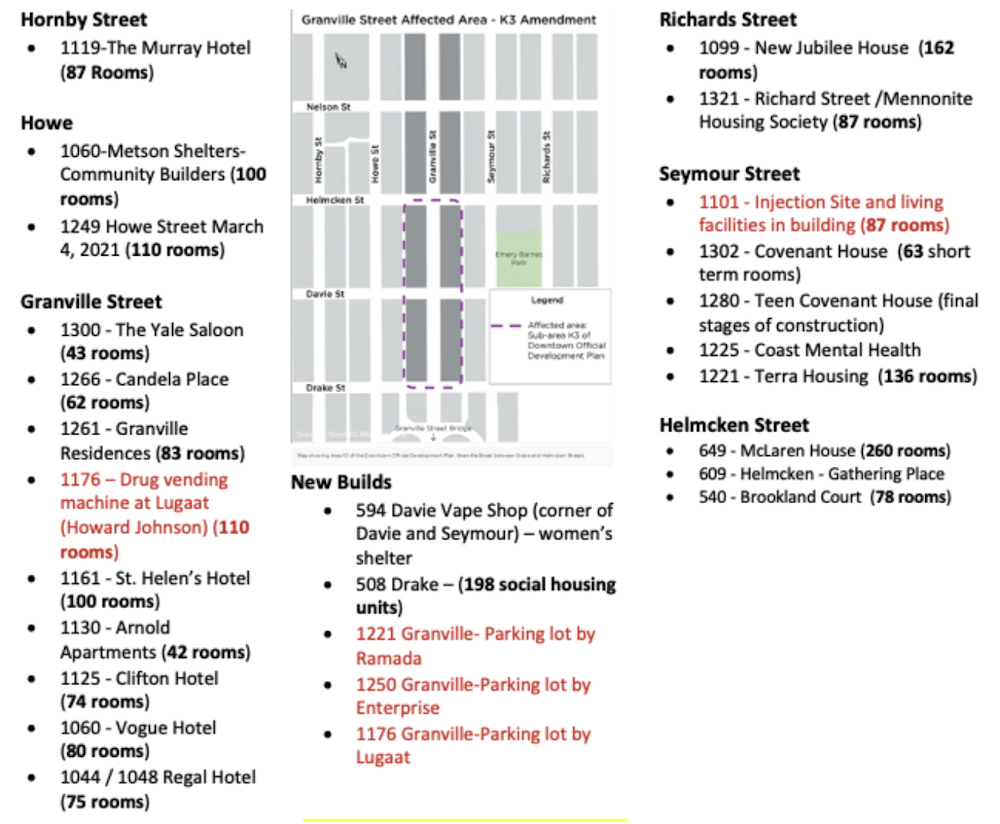 downtown south granville street granville entertainment district social housing sros map