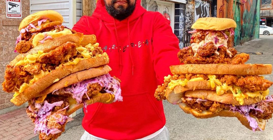 You can get huge chicken sandwiches in Toronto for $5 next week