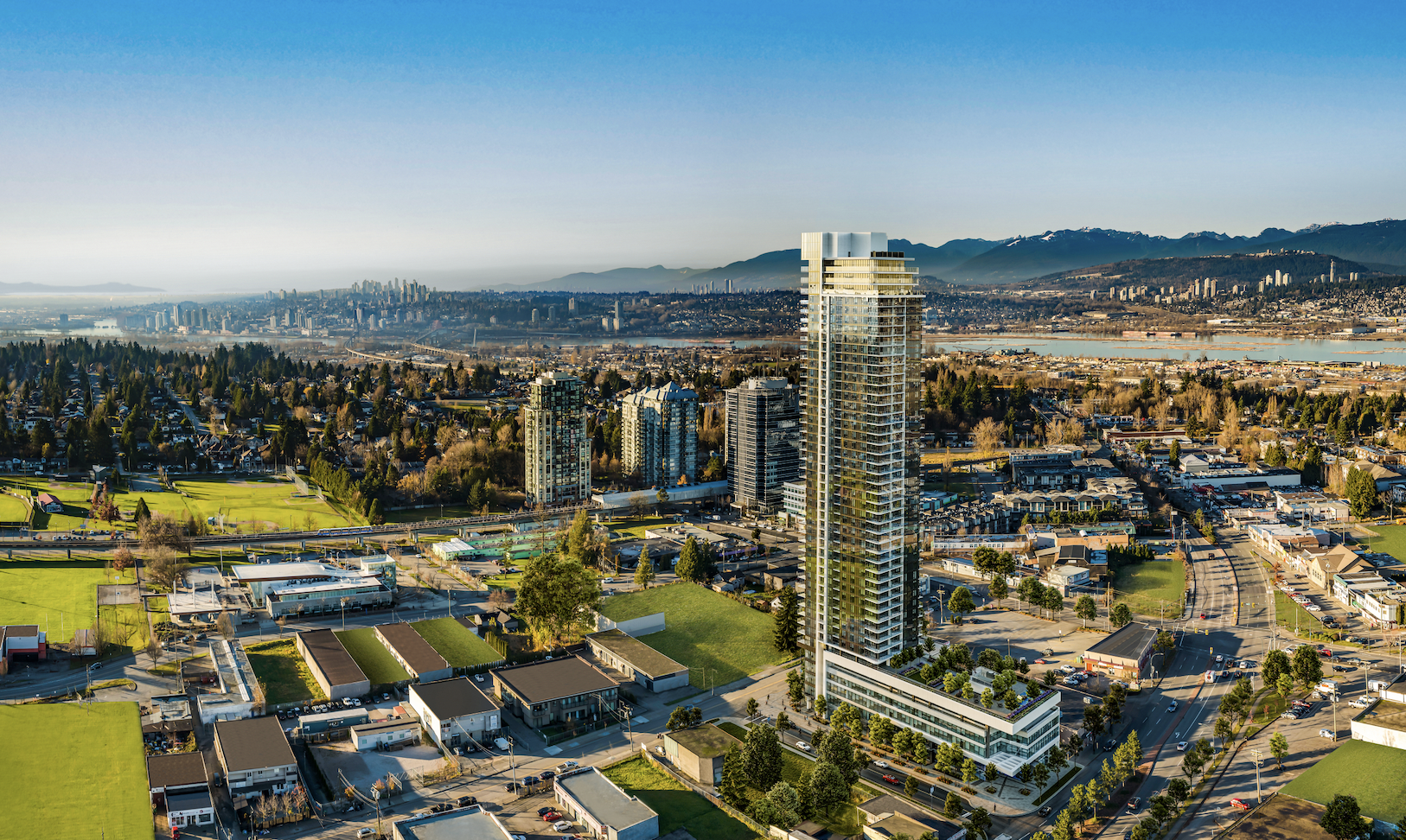 Developer behind 46-storey Surrey tower talks building into the sky