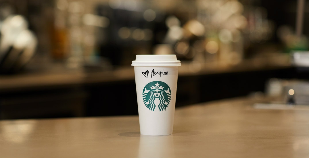 Starbucks and Aeroplan launch groundbreaking new partnership