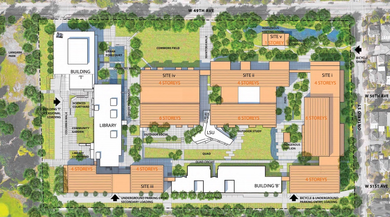 langara college campus expansion vancouver
