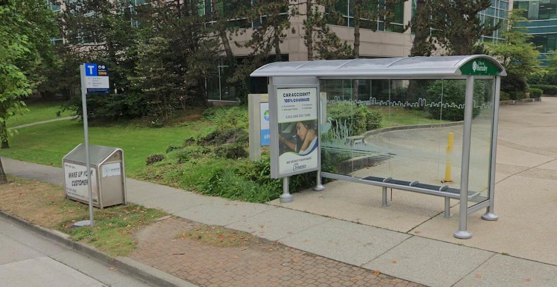 burnaby bus shelter translink f