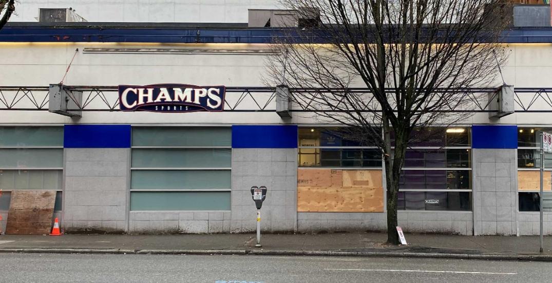 Granville Street store broken into three times in one week