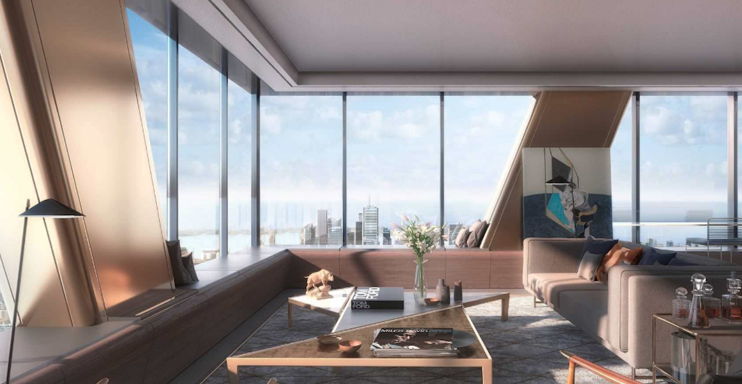 What a $16.4 million condo in Toronto's The One will look like (RENDERINGS)
