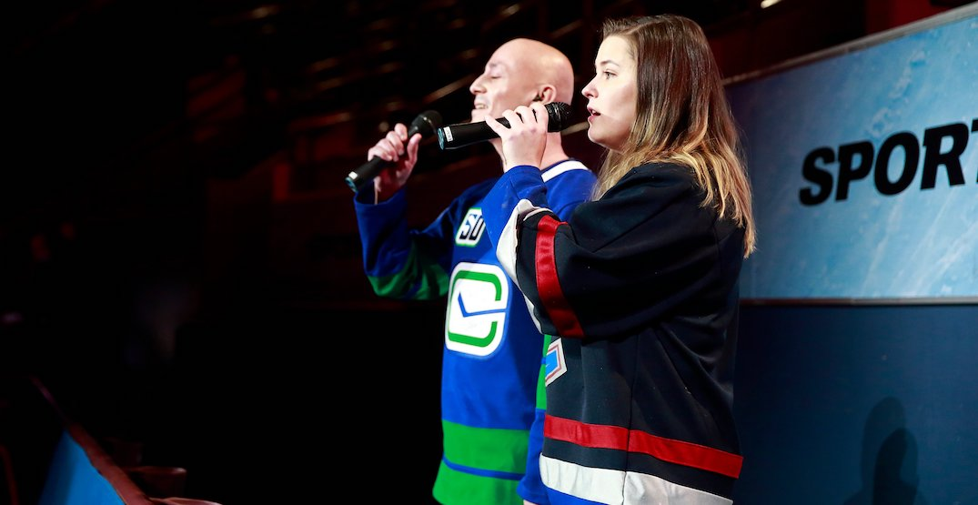 Canucks singing competition to decide anthem singer at upcoming game