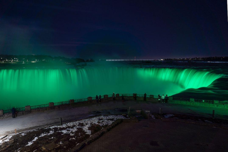 Niagara falls st patricks day