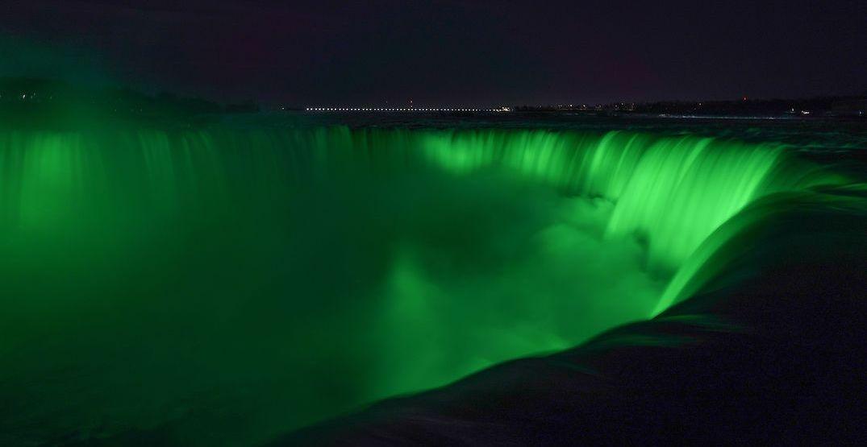 Niagara Falls will turn bright green on March 17 (PHOTOS)
