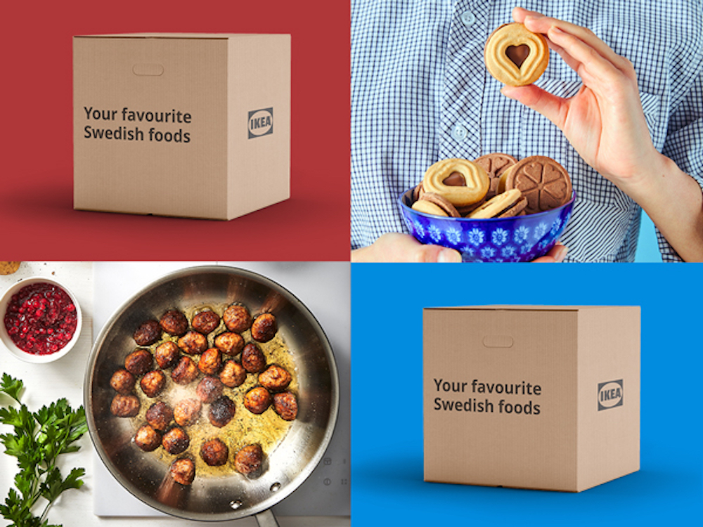 IKEA food delivery