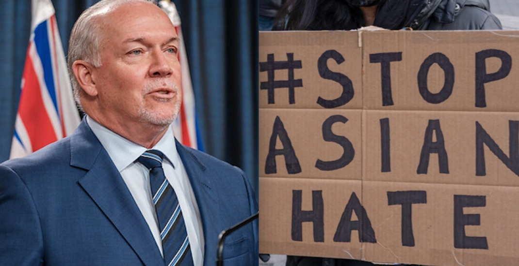 BC premier speaks out against hate crimes after six Asian women killed in US attack