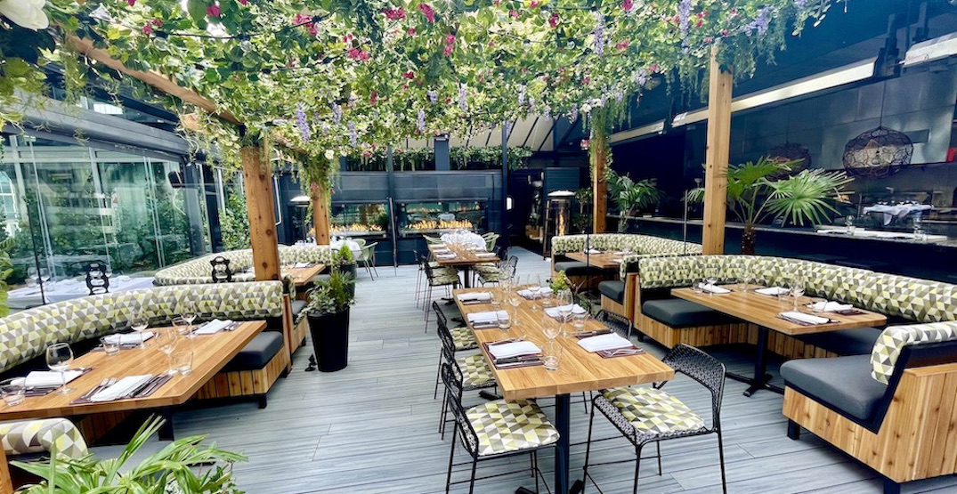 The Roof at Black + Blue reopens after garden-inspired makeover