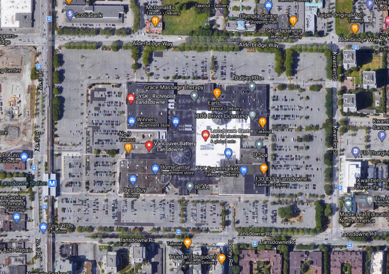lansdowne mall aerial