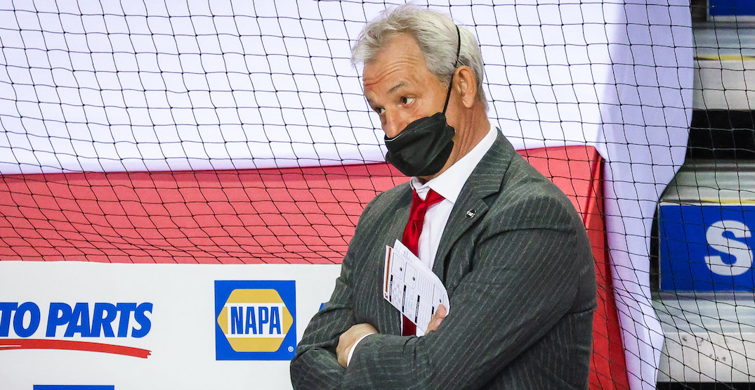 Flames coach Darryl Sutter explains why he doesn't like pulling the goalie