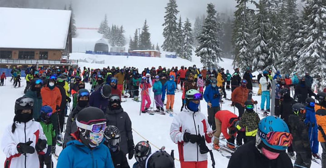 Busy spring break caps off North Shore mountains' pandemic ski season