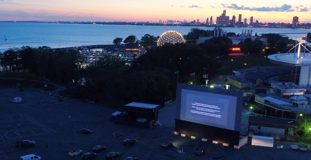 Drive-in movies return at Ontario Place next month