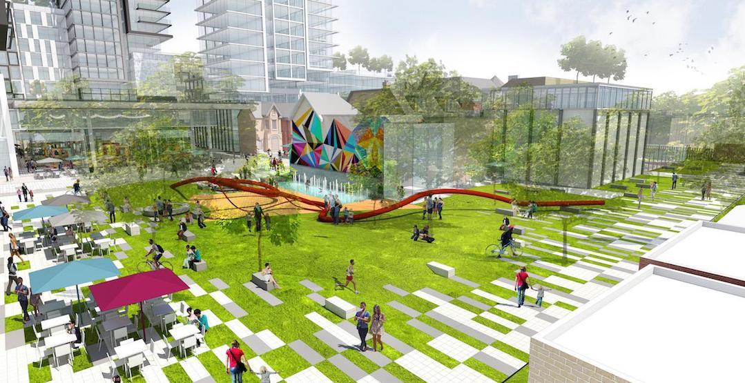 toronto new parks