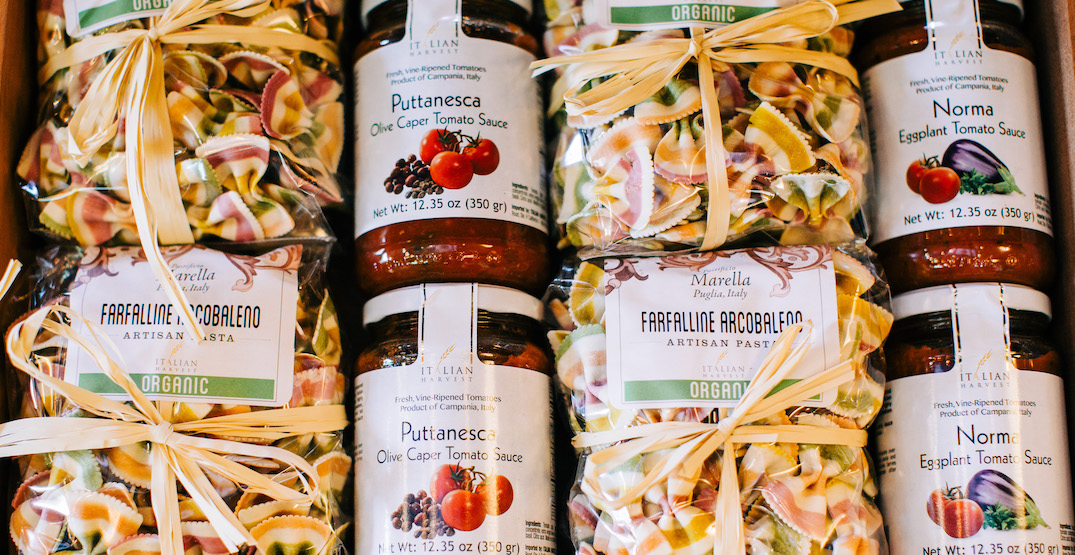 Pick up an Italy-inspired curated box from Ciao Food and Wine