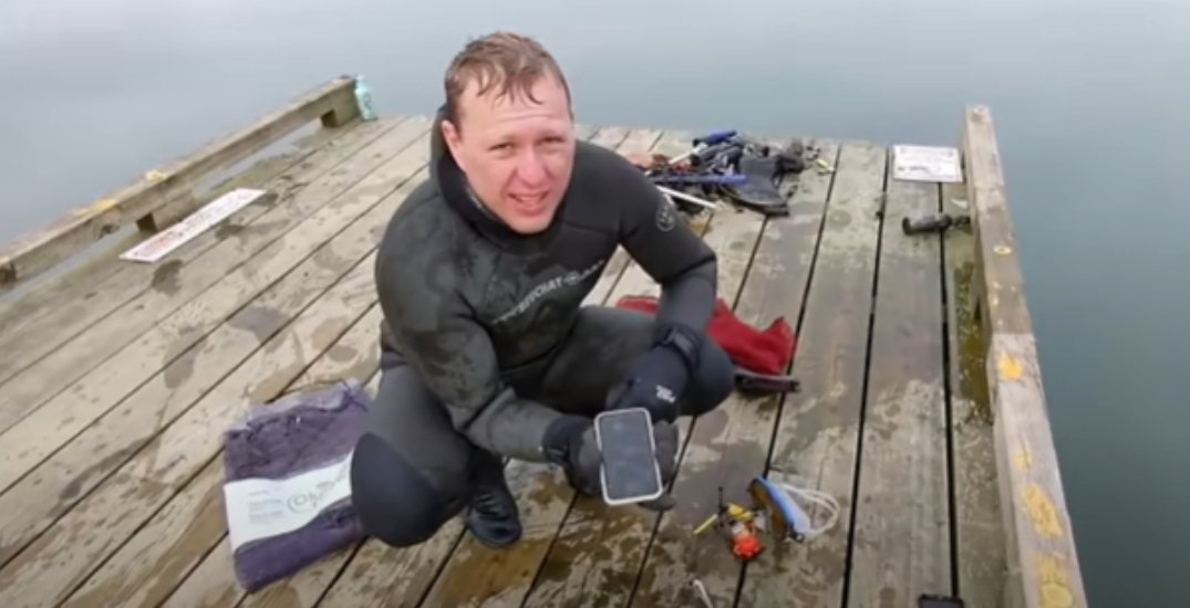 Working iPhone 11 found after spending six months at bottom of BC lake
