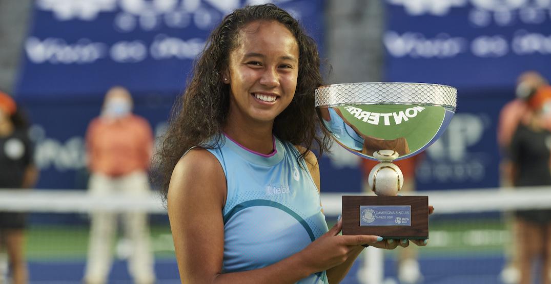 Canadian teen Leylah Fernandez wins first-ever WTA title