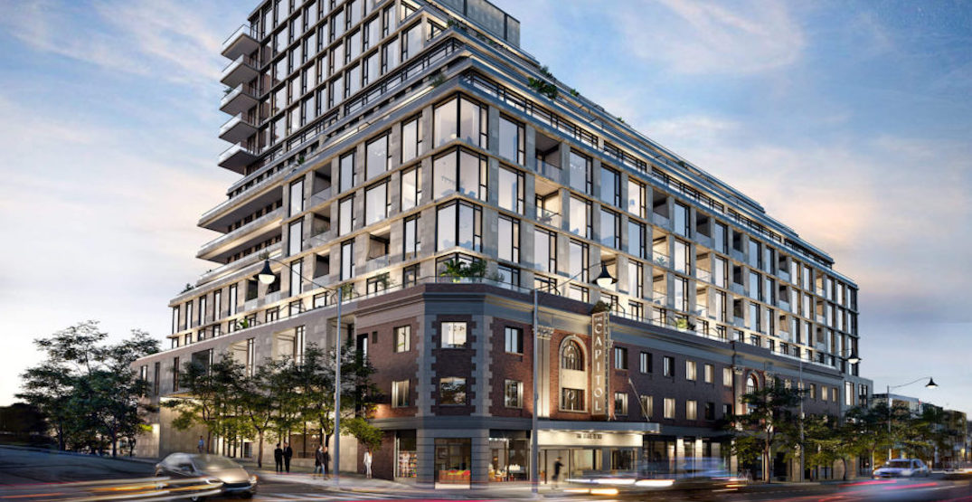 101-year-old Toronto movie theatre to be developed into condo building (RENDERINGS)