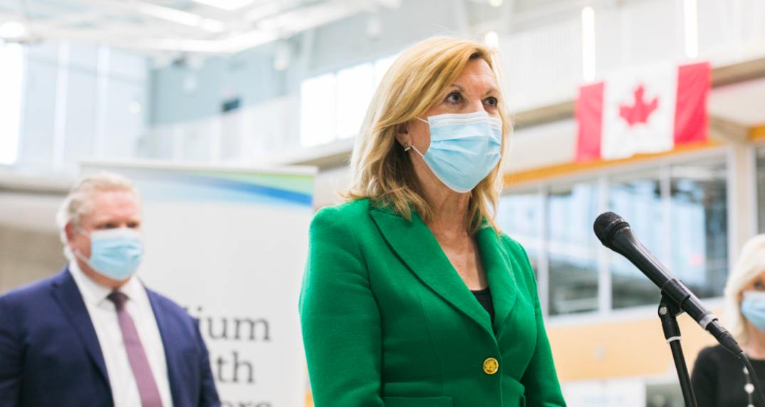 Ontario's Health Minister plans to publicly receive AstraZeneca vaccine