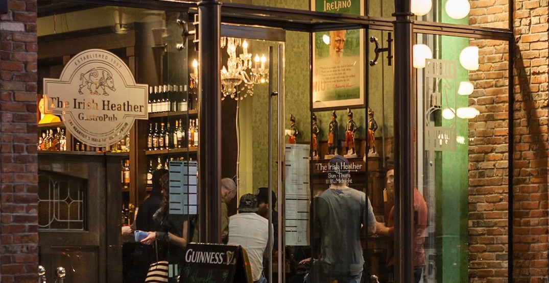 The Irish Heather set to reopen in Chinatown this spring