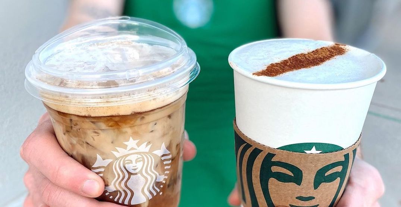 Starbucks is offering buy-one-get-one FREE drinks this week