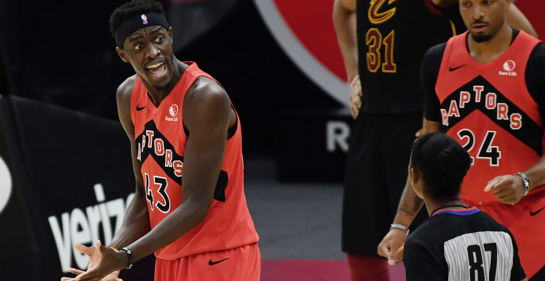 Raptors fine Pascal Siakam for mouthing off Nick Nurse: report