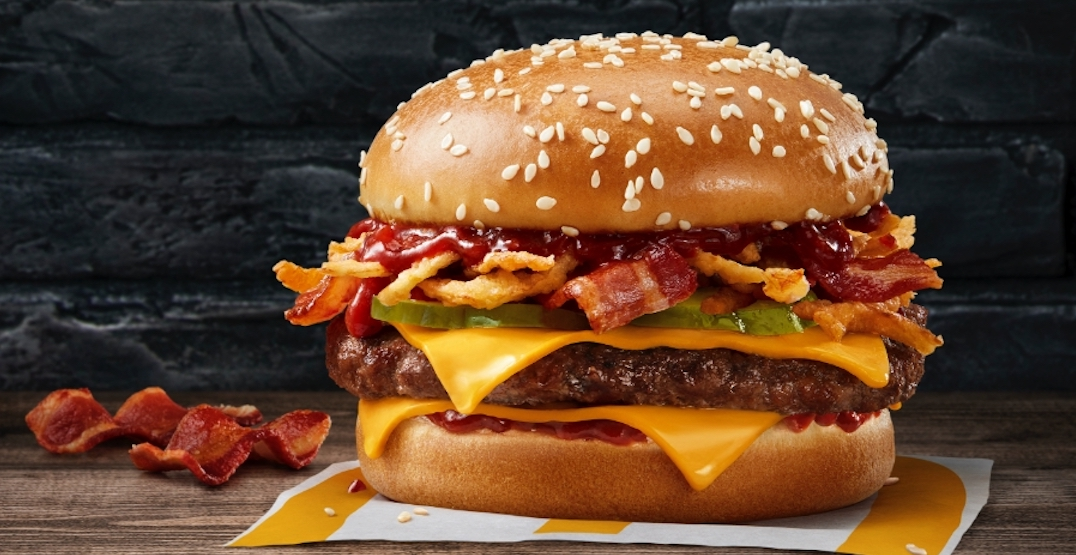 McDonald's just launched a new burger across Canada