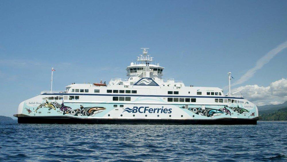 bc ferries salish orca