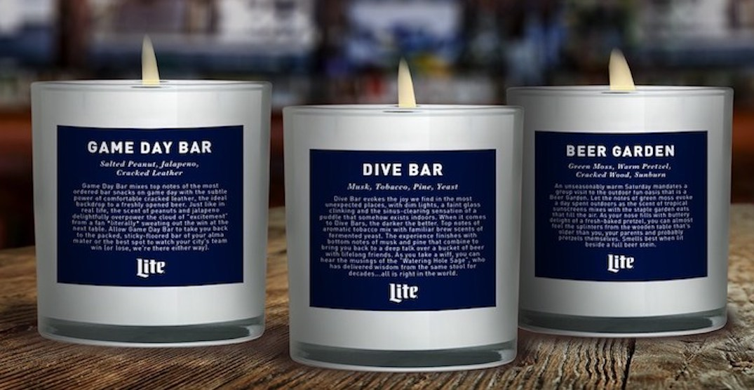 Miss those dive bar smells? There's a line of candles just for you