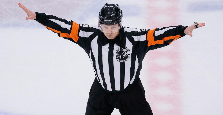 NHL bans longtime referee Tim Peel after hot-mic incident