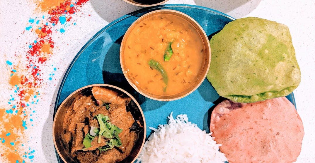 Seattle's Indian street food restaurant is offering a $40 Holi meal this weekend