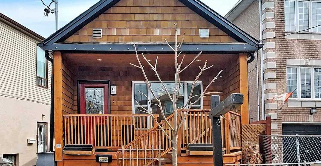 Toronto cottage-inspired house is on the market for under $800,000 (PHOTOS)