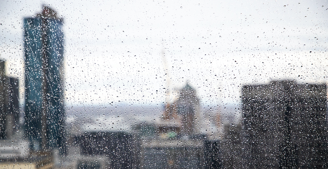 Rainfall warning in effect for Montreal, up to 40 millimetres expected