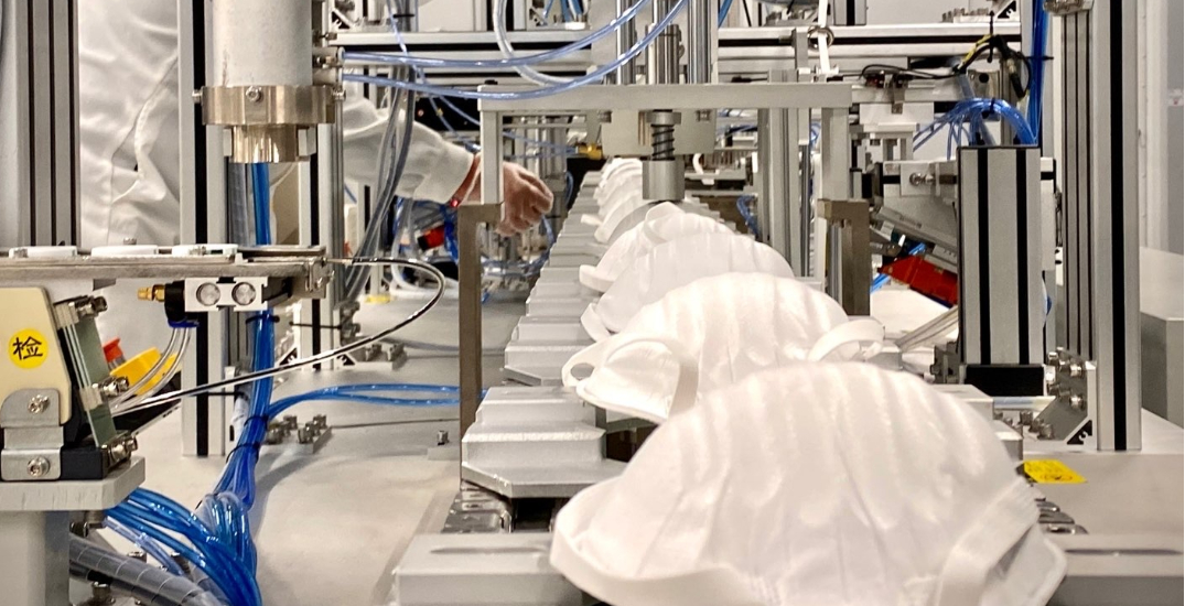 Canadian company produces 1M made-in-Canada N95 masks in first week