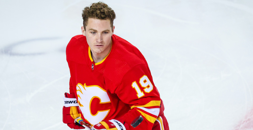 Flames' Tkachuk makes history as first NHL player to release NFT