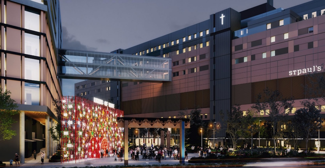 Lights of Hope display tradition to continue at new St. Paul's Hospital campus