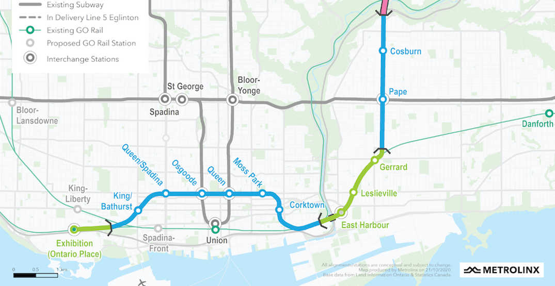 Metrolinx considering design changes for Ontario Line