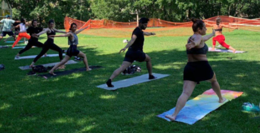 Outdoor fitness classes officially allowed to resume in Toronto today