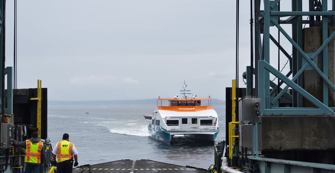 A new ferry will take you from Southworth to downtown Seattle in just 26 minutes