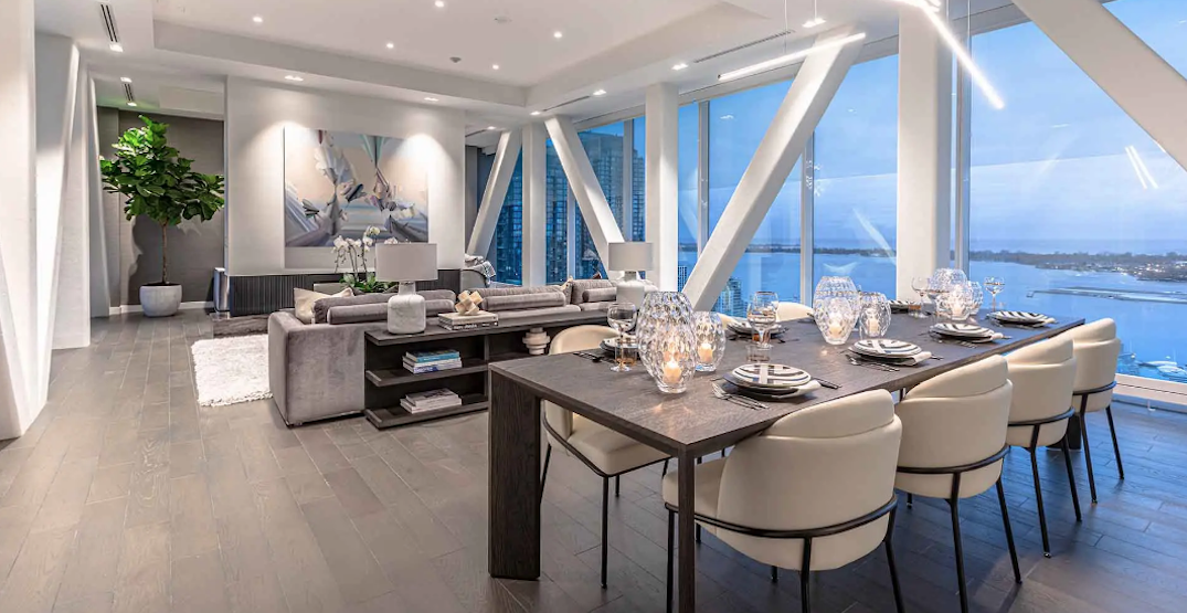 A look inside Toronto's Skybridge condo, Canada's only suspended residence (VIDEO)