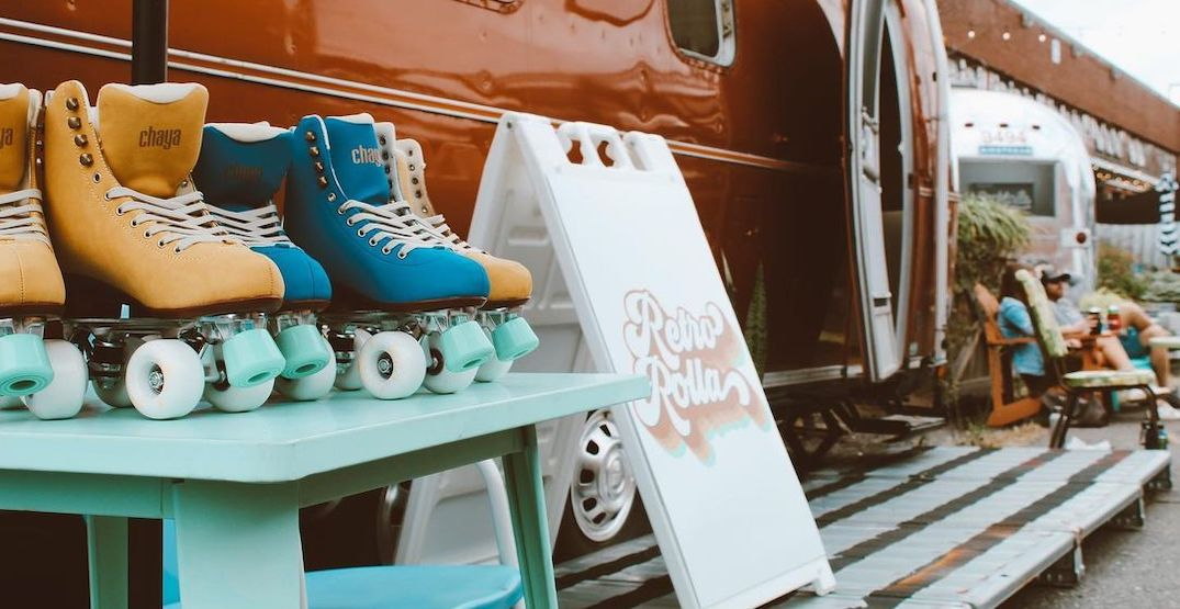 A retro rollerskating pop-up is coming to Toronto this summer