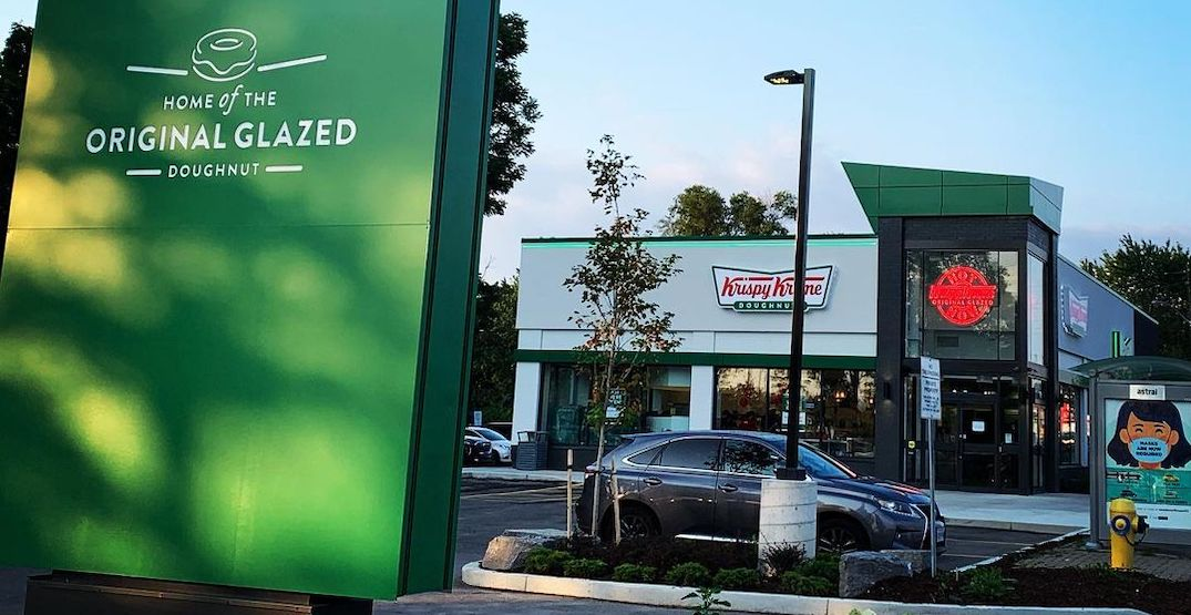 Krispy Kreme is giving out free coffee and doughnuts every week