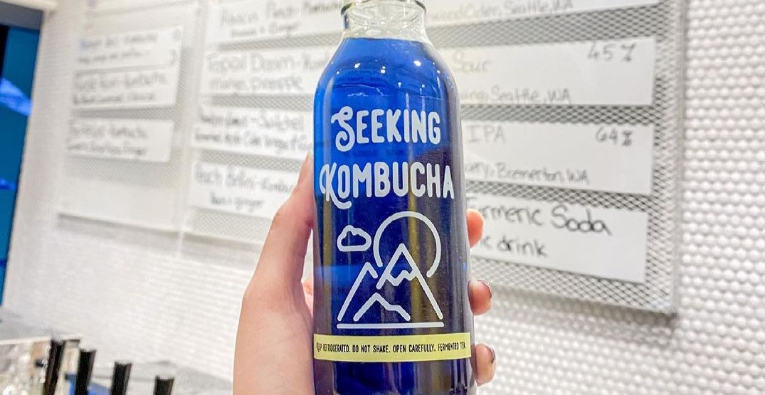 A kombucha taproom has opened in South Lake Union