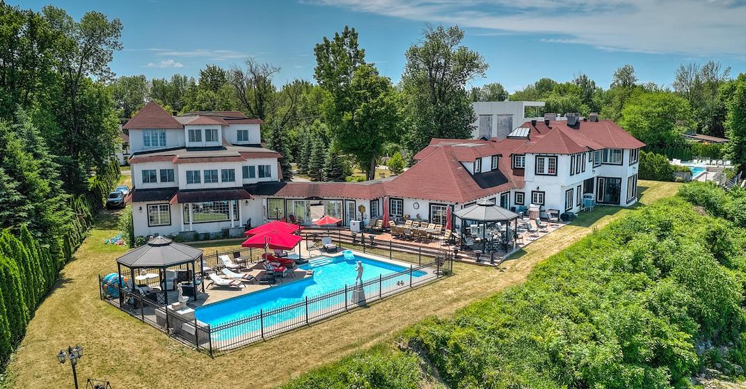 A look inside: $4.8M 27-room waterfront mansion in Vaudreuil (PHOTOS)