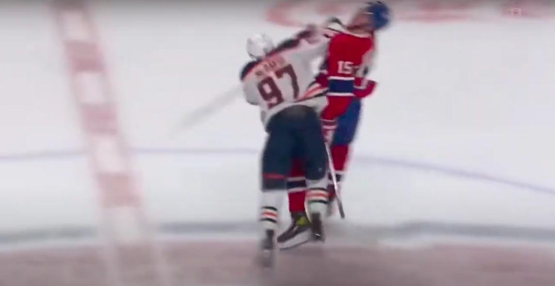 NHL fines McDavid for elbowing Kotkaniemi during Oilers-Canadiens game