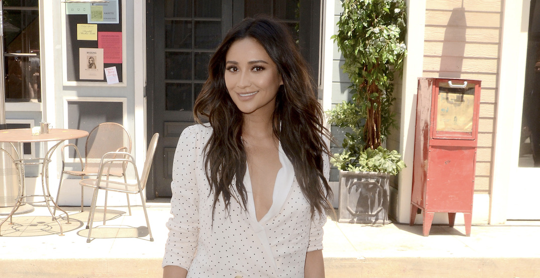 Shay Mitchell spotted eating final dine-in meal in Vancouver