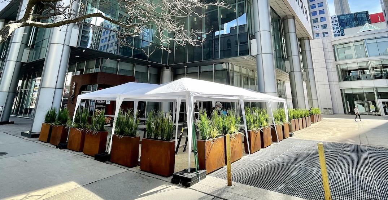 Minami Toronto opens massive heated downtown patio