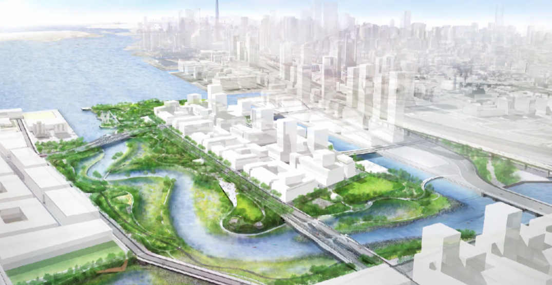 A new river is being built in downtown Toronto (RENDERINGS)