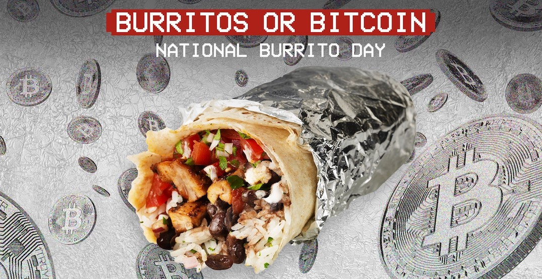 Chipotle is giving out free burritos and $100,000 in Bitcoin